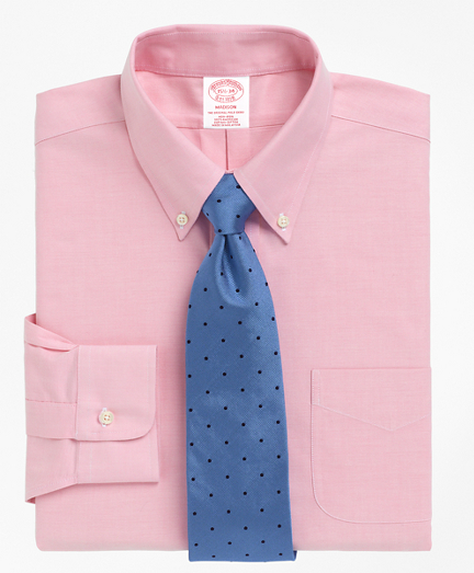 BrooksCool Madison Classic-Fit Dress Shirt, Non-Iron Button-Down Collar