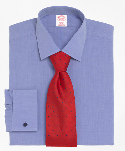 Madison Classic-Fit Dress Shirt, Non-Iron Spread Collar French Cuff
