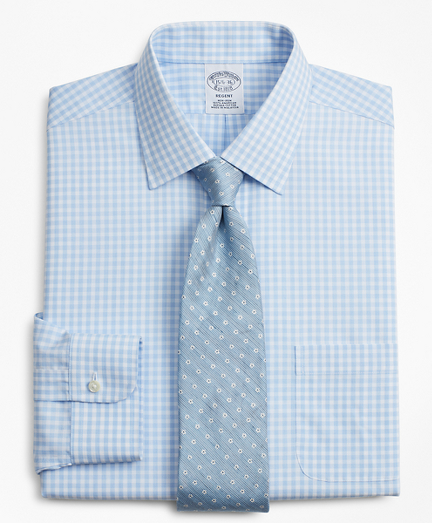 Regent Fitted Dress Shirt, Non-Iron Check