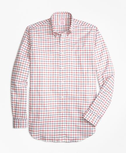 Oxford  Large Check Sport Shirt