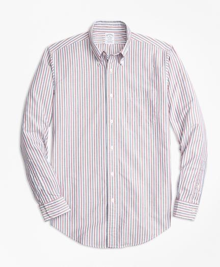 Oxford Stripe Sport Shirt