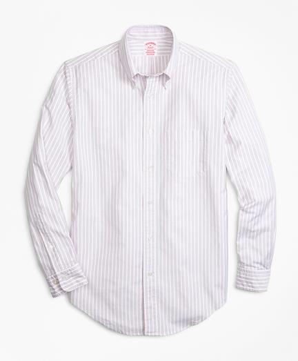 Oxford Outline Stripe Sport Shirt