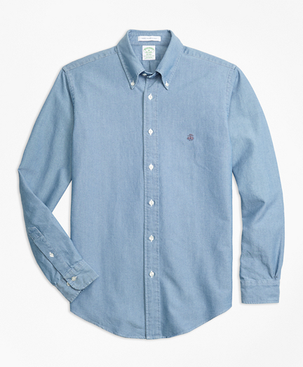Indigo Dyed Sport Shirt