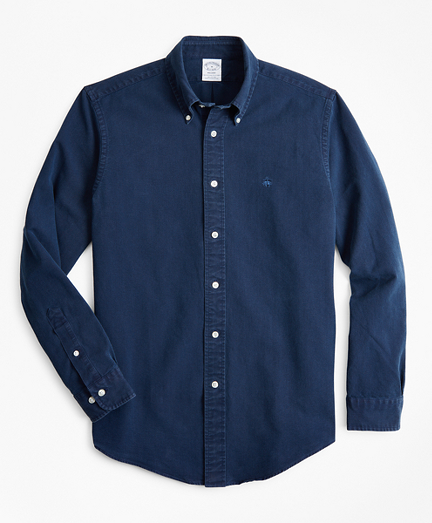 Indigo Oxford Sport Shirt