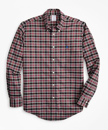 Non-Iron Regent Fit Tartan Sport Shirt