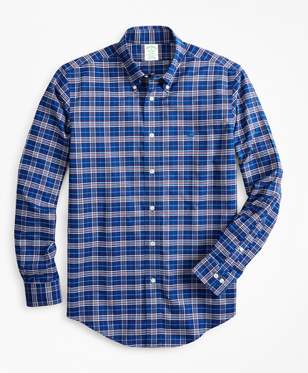 Non-Iron Milano Fit Check Sport Shirt