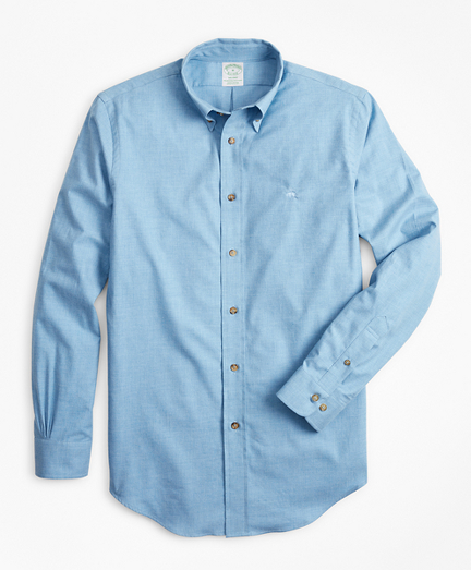 Milano Fit Brushed Flannel Sport Shirt