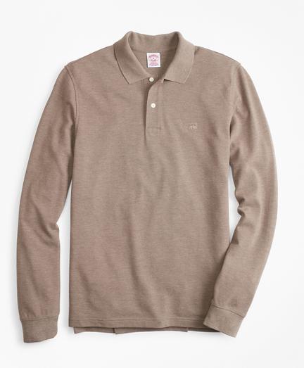 Original Fit Supima Long-Sleeve Performance Polo Shirt