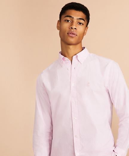 Garment-Dyed Broadcloth Sport Shirt