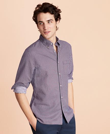 Foulard Linen-Blend Sport Shirt
