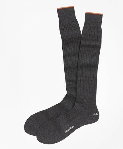 Merino Wool Sized Over-the-Calf Socks