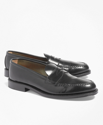 Cordovan Unlined Penny Loafers