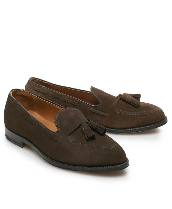 Brown Suede Tassel Brown