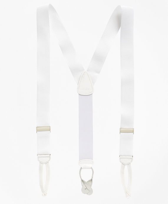 Formal Suspenders White