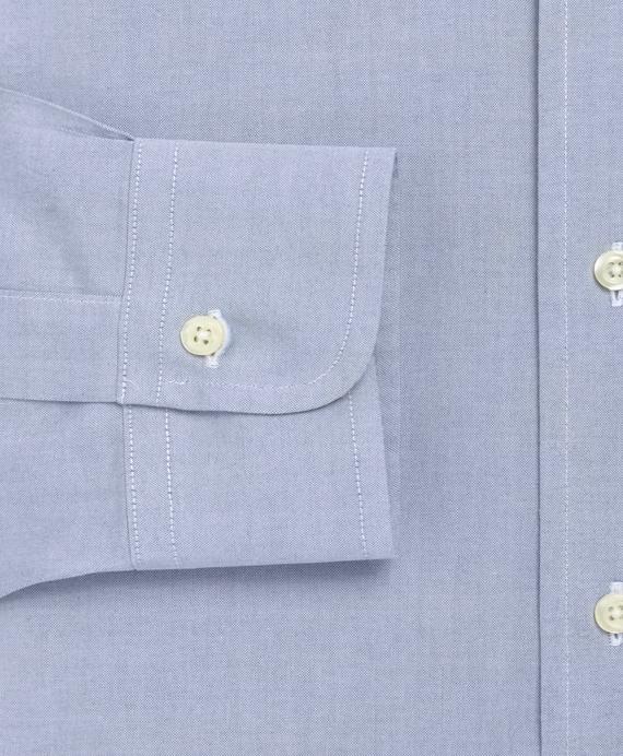 Men 39 s non iron slim fit button down collar dress shirt for Button down collar dress shirts