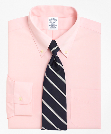 Regent Fitted Dress Shirt, Non-Iron Button-Down Collar