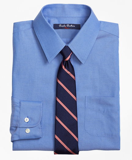 Boys Non-Iron Supima® Pinpoint Cotton Dress Shirt