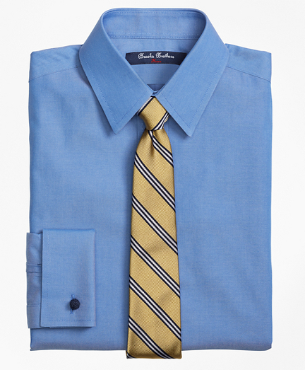 Boys Non-Iron Supima® Pinpoint Cotton French Cuff Dress Shirt