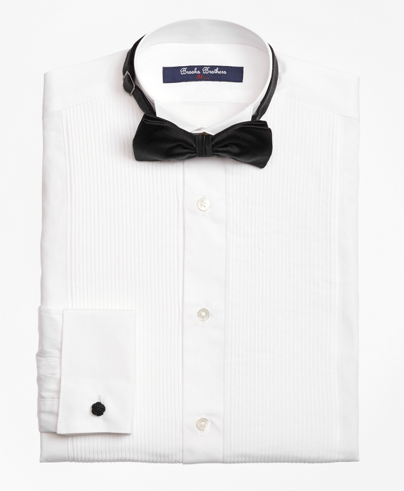 0eda9d43 Boys' White Tuxedo Dress Shirt | Brooks Brothers