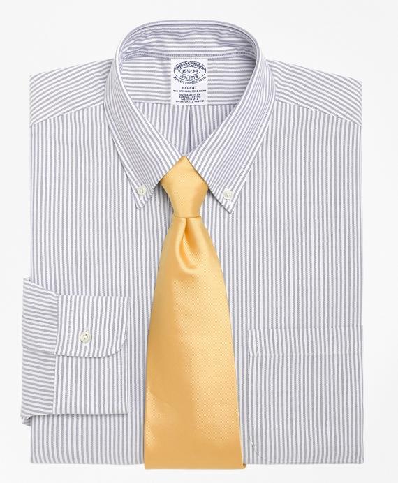 Regent Fitted Dress Shirt, Stripe Blue