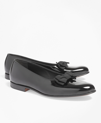 Formal Pumps with Grosgrain Ribbon Bow