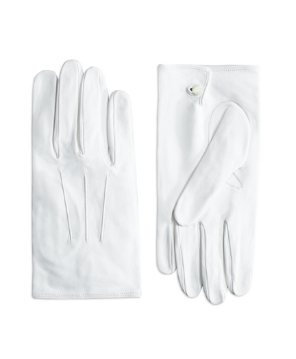 White Formal Gloves