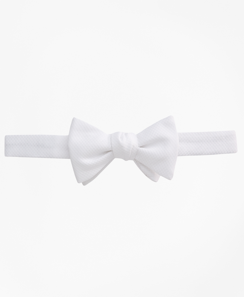 Edwardian Men's Formal Wear Brooks Brothers Mens Pique Pre-Tied Bow Tie $89.50 AT vintagedancer.com