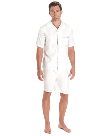 Wrinkle-Resistant Short Pajamas