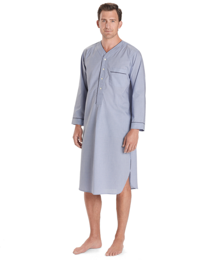 Wrinkle-Resistant Broadcloth Nightshirt
