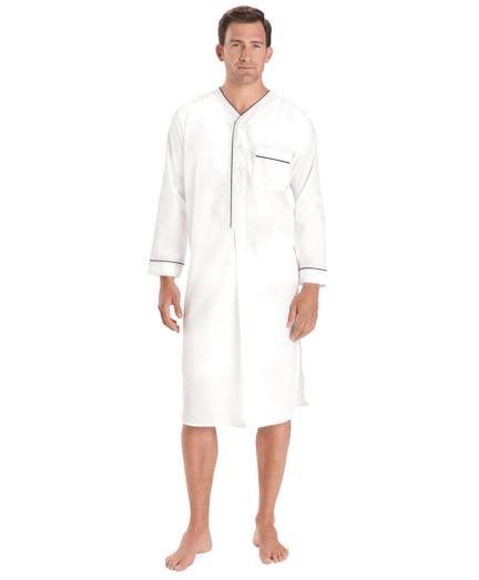 Wrinkle-Resistant Broadcloth Nightshirt