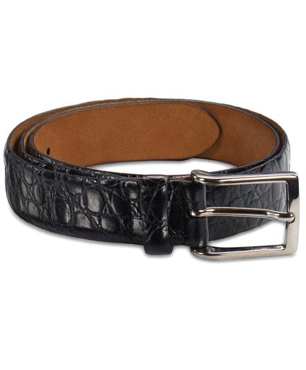 Alligator Dress Belt