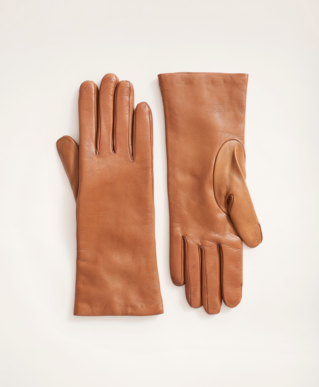 Vintage Gloves History- 1900, 1910, 1920, 1930 1940, 1950, 1960 Brooks Brothers Womens Cashmere Lined Leather Gloves $138.00 AT vintagedancer.com