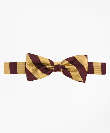 Boys Guard Striped Bow Tie