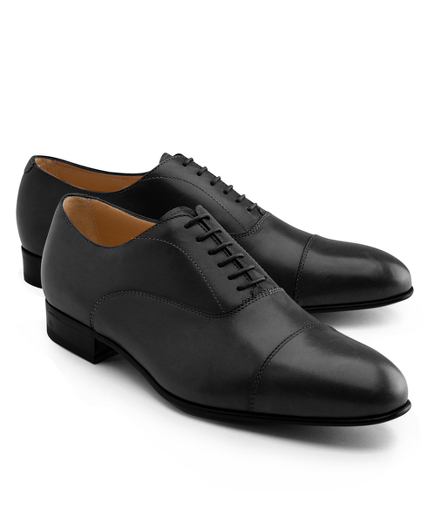 Lightweight Leather Straight Captoe Bals