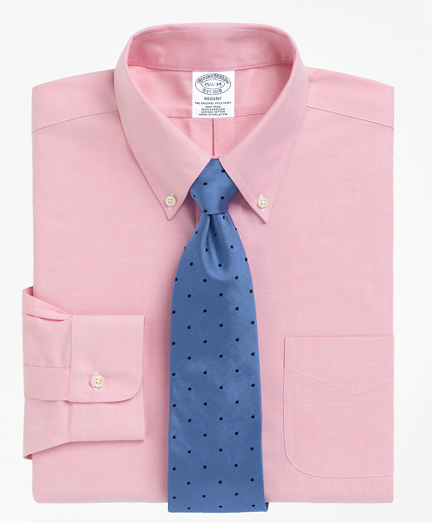 BrooksCool® Regent Fitted Dress Shirt, Non-Iron Button-Down Collar