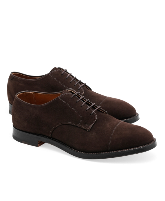 Captoe Suede Bluchers Brown