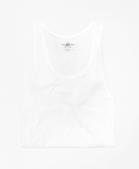 Country Club Mercerized Cotton A-Shirt White