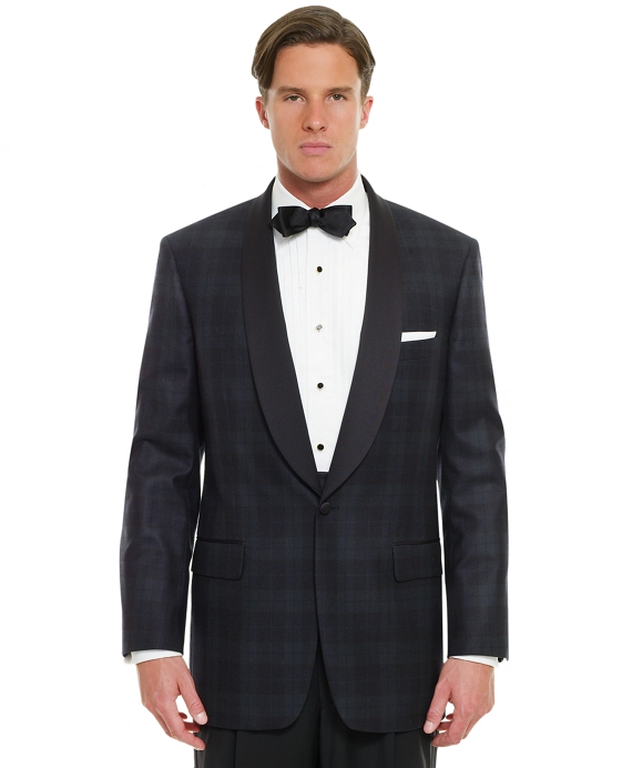 Black Watch Shawl Collar Dinner Jacket Black Watch