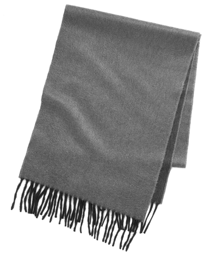 Reversible Two-Tone Cashmere Scarf
