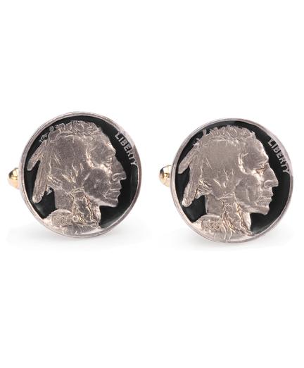 Vintage Buffalo Nickel Cuff Links