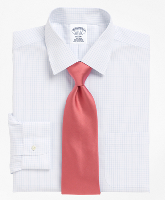 Regent Fitted Dress Shirt, Non-Iron Graph Check