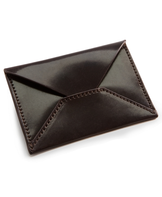 Cordovan business card holder brooks brothers cordovan business card holder cordovan reheart Images