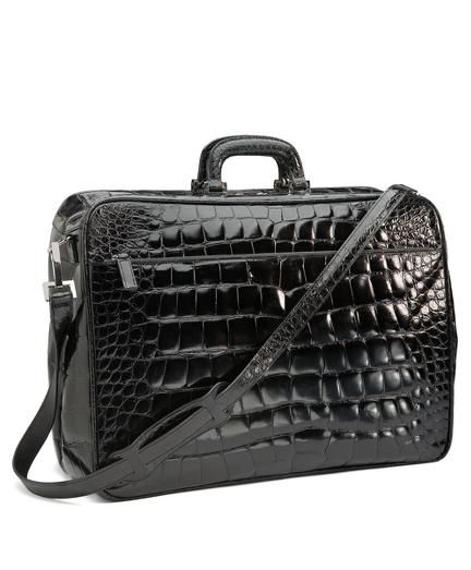 Glazed Alligator Travel Bag