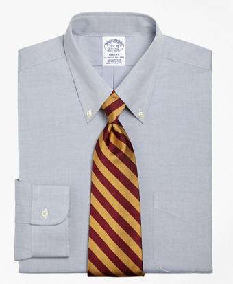 Regent Regular-Fit Dress Shirt,  Button-Down Collar