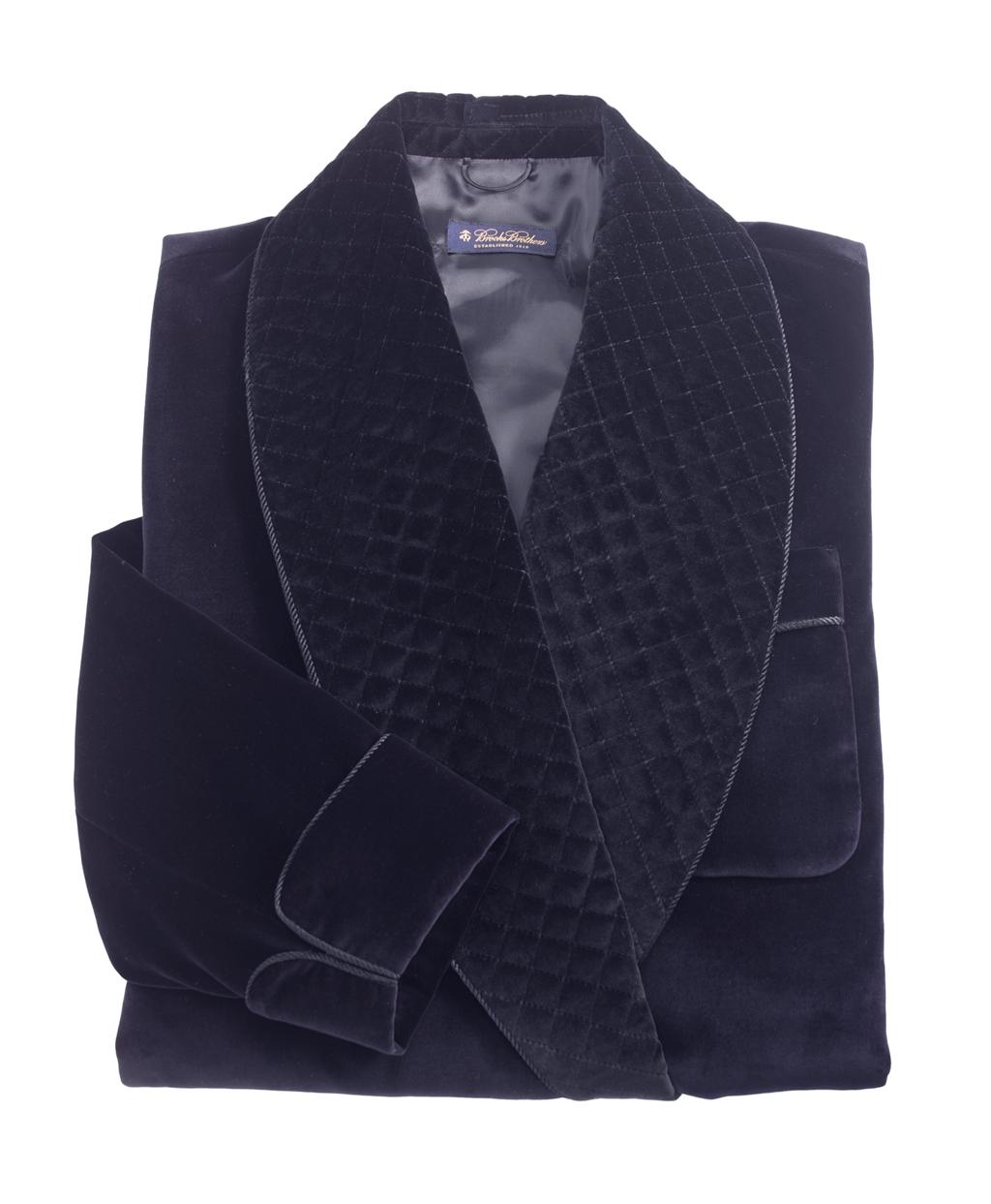 Men s Velvet Smoking Jacket 0fc60465c1