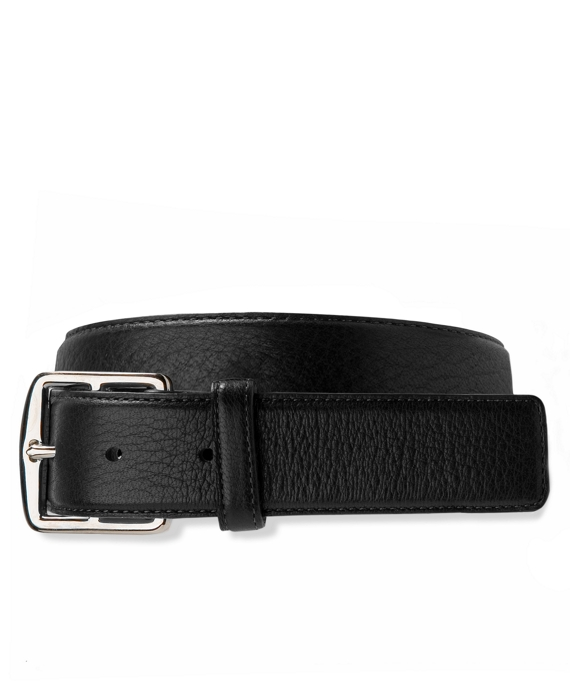 Deerskin Leather Belt Black
