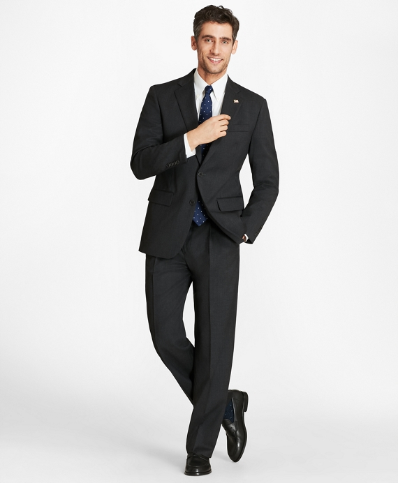 Madison Fit Two-Button 1818 Suit Grey