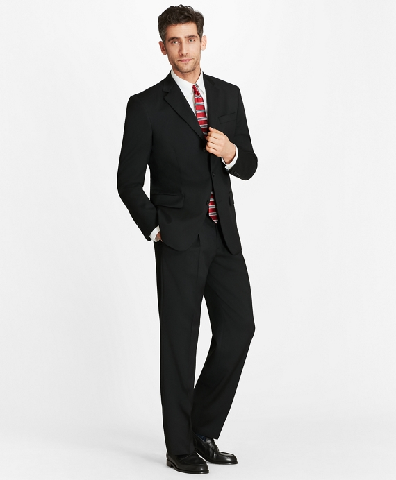 Madison Fit Three-Button 1818 Suit Black