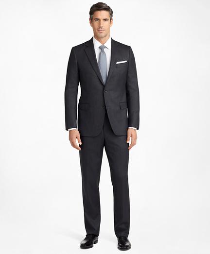 Madison Fit Saxxon™ Wool Herringbone 1818 Suit