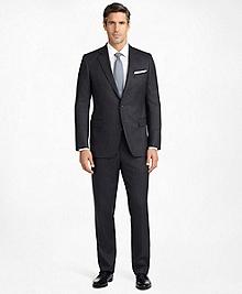 Madison Fit Saxxon Wool Herringbone 1818 Suit